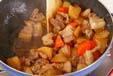 大根と豚肉の中華煮の作り方4
