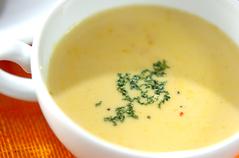 カボチャのミルクスープ
