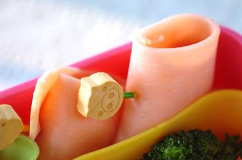 ハムのクリームチーズ巻き