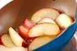 リンゴのミルフィーユの下準備2
