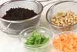 大豆とヒジキの煮物の下準備1