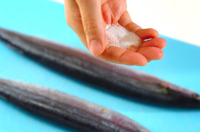 サンマの塩焼きの作り方の手順4