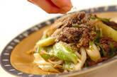 野菜炒め・ゴマ風味の作り方3