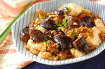 炒めマーボーナス豆腐