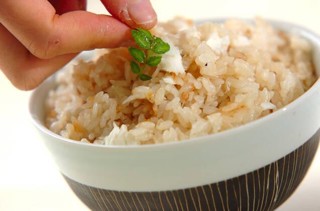ふっくら鯛飯の作り方の手順7