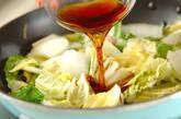 白菜と豚肉の炒め煮の作り方2