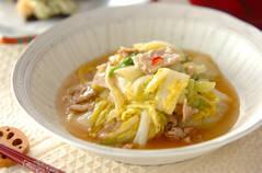 白菜と豚肉の炒め煮