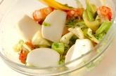 ボイルエビとセロリのサラダの作り方4