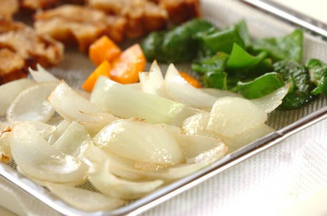 車麩で酢豚の作り方の手順9