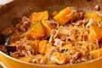 カボチャの筑前煮の作り方の手順9