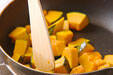 カボチャの筑前煮の作り方6