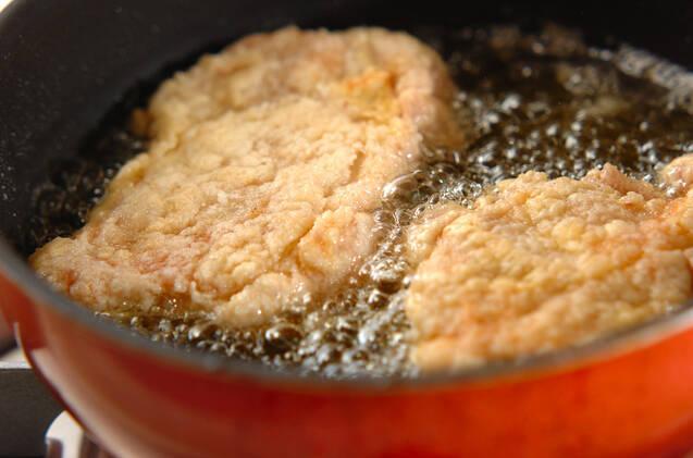 レモンソースがけ揚げ鶏の作り方の手順5