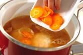 大根のひらひらスープの作り方2