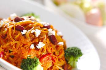 カレースープスパゲティー