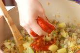 ひき肉カレーの作り方3