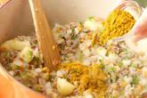 ひき肉カレーの作り方8