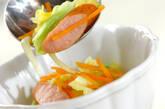 春キャベツの具だくさんカレースープの作り方6