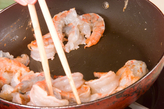 中華風エビのマヨ炒めの作り方1