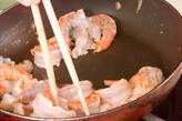 中華風エビのマヨ炒めの作り方6