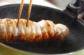 チキンのロール焼きの作り方2