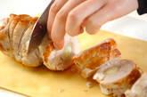 チキンのロール焼きの作り方9