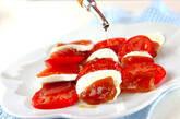 トマトとマグロのサラダの作り方2