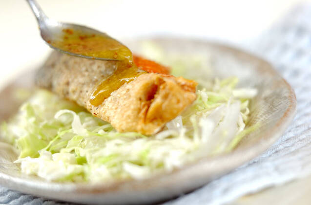 鮭の唐揚げの作り方の手順6