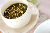 抹茶の葛湯の作り方の手順