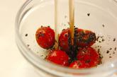 プチトマトのゴマ和えの作り方2