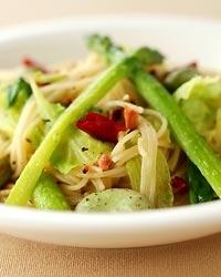 春野菜ペペロンチーノ
