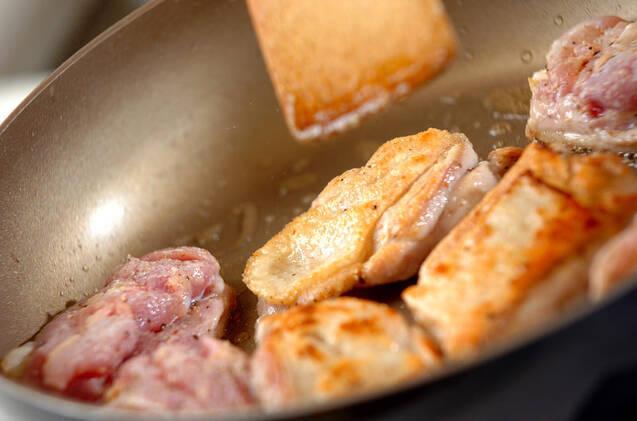 鶏肉のレモンソースの作り方の手順6