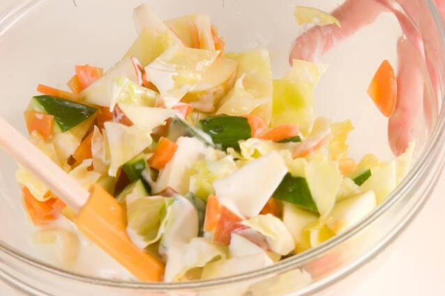 ヨーグルトサラダの作り方の手順7