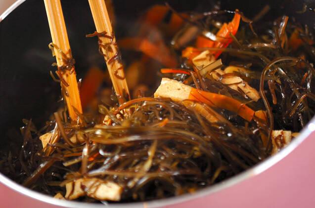 刻み昆布と大豆の煮物の作り方の手順6
