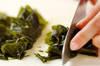 生ベーコンのサラダの作り方の手順2