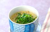 エノキの茶碗蒸し