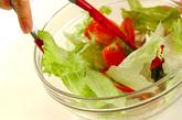 野菜サラダの作り方1