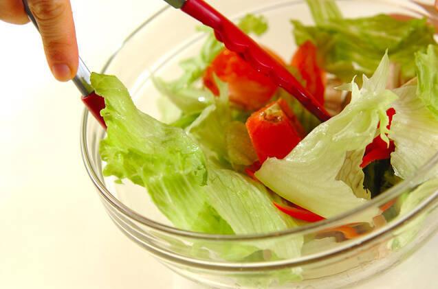 野菜サラダの作り方の手順6