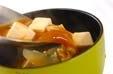 玉ネギとエノキのみそ汁の作り方2