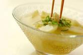薄切りウリの葛汁の作り方5