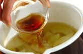 薄切りウリの葛汁の作り方2