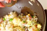 レタス包み炒飯の作り方3