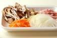 素麺炒めの下準備1