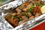 鶏肉のホイル焼き