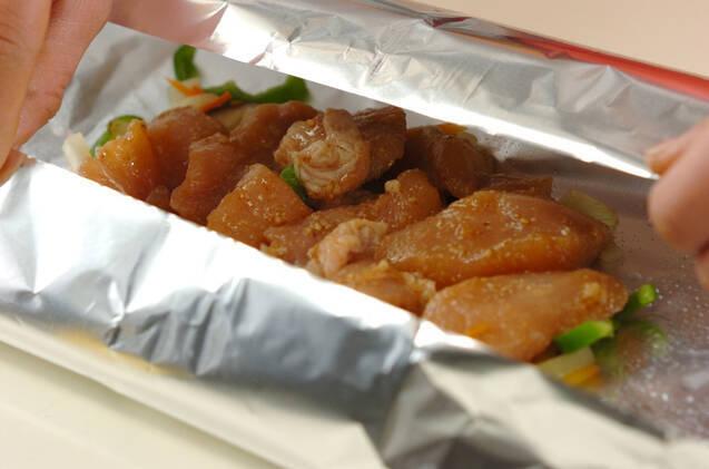 鶏肉のホイル焼きの作り方の手順10