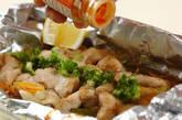 鶏肉のホイル焼きの作り方11