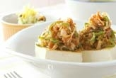 豆腐と豚肉の炒め物