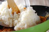 チーズオムライスの作り方1