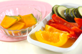 夏野菜のグリルの作り方1