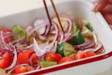 つるりん豆腐サラダの作り方2