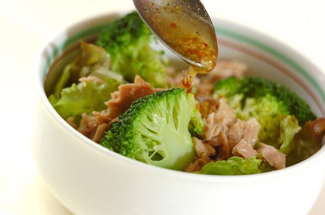 ブロッコリーとツナのサラダの作り方の手順6